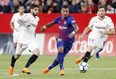 Paulinho, jugador del Barcelona. FC Barcelona