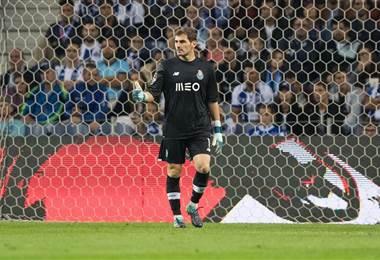 Iker Casillas, portero español del FC Porto.