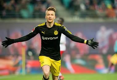 Marco Reus, delantero alemán del Borussia Dortmund.