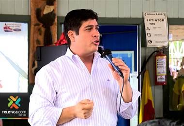 Cómo fue el día de Carlos Alvarado antes de la segunda ronda electoral