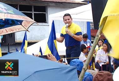 Cómo fue el día de Fabricio Alvarado antes de la segunda ronda electoral