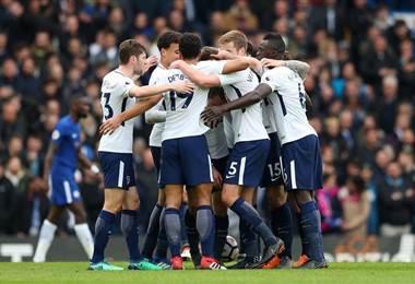 Foto tomada de Tottenham en Twitter