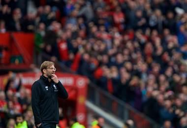 El técnico del Liverpool Jurgen Klopp.