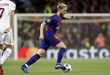 El centrocampista croata del Barcelona, Ivan Rakitic.