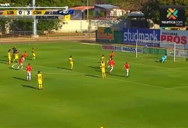 Resumen Torneo Nacional: Liberia 0 - 3 Herediano 15 Abril 2018