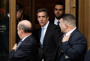 Michael Cohen, abogado de Donald Trump. AFP