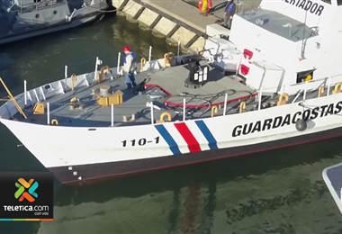 Nuevas embarcaciones que usará guardacostas en el Pacífico detectan navíos a 150 km de distancia