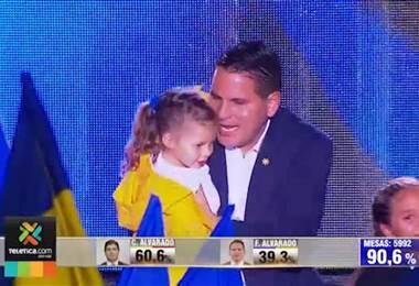 Discuso de la derrota Fabricio Alvarado