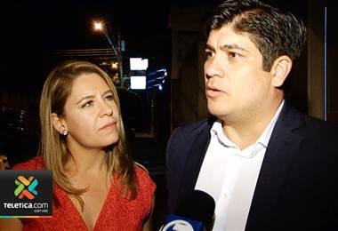 Entrevista con Carlos Alvarado y Claudia Dobles