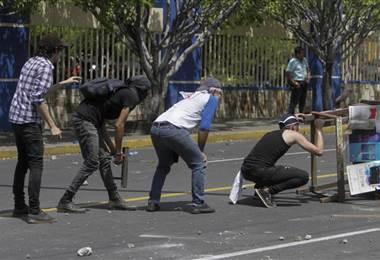 Este jueves se vivió una jornada tensa en Nicaragua. AFP