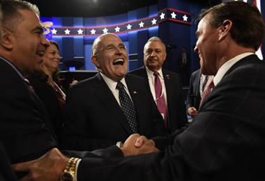 Rudy Giuliani es el nuevo abogado de Donald Trump. AFO