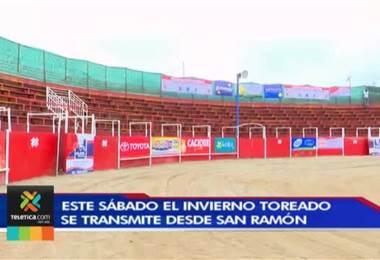 Invierno Toreado de su Teletica llega este sábado a San Ramón