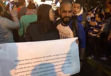 Hijastra del Daniel Ortega: ¡Por favor detengan la represión y derramamiento de sangre!
