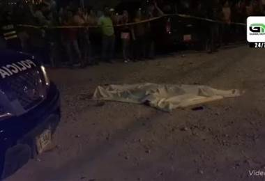 Muerto accidente motociclista