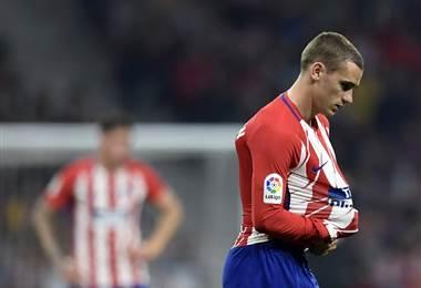 Antoine Griezmann del Atlético de Madrid. AFP