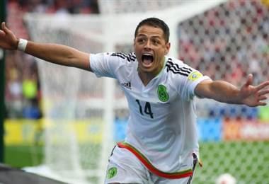 """Javier """"Chicharito"""" Hernández confía en hacer un buen mundial con México en Rusia 2018."""