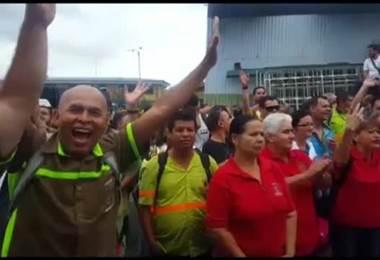Trabajadores de la Municipalidad de San José se suman a la huelga y paralizan labores