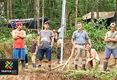 Ocho años después de cierre de mina Crucitas la lucha contra coligalleros se salió de control