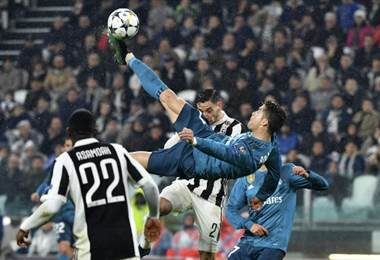 Cristiano Ronaldo, delantero portugués del Real Madrid  AFP.
