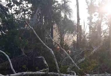 Incendio forestal Nicaragua