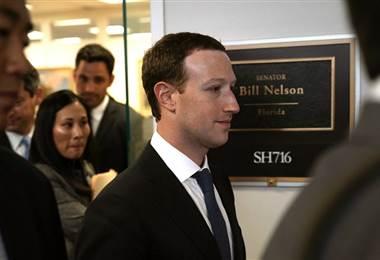 Mark Zukerberg. AFP