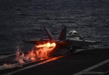 Israel usó 28 aviones y disparó 70 misiles contra posiciones iraníes en Siria