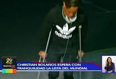 Christian Bolaños espera con tranquilidad la lista de convocados para el Mundial