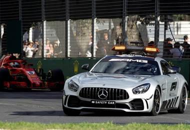 El auto de seguridad ha sido requerido en tres de los cuatro grandes premios disputados en 2018
