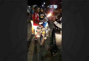 Fuerza Pública decomisa cinco motos por alteraciones en San Carlos