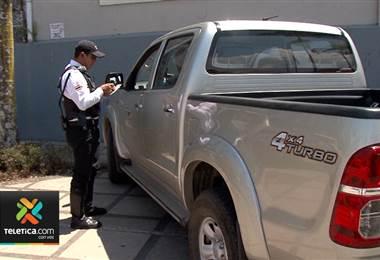 Multas por mal estacionamiento llegan, en promedio, a 111 por día