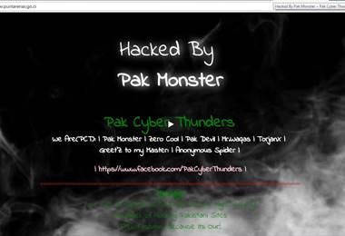 Hackers pakistaníes realizan ataque masivo a varios sitios web del Gobierno de Costa Rica