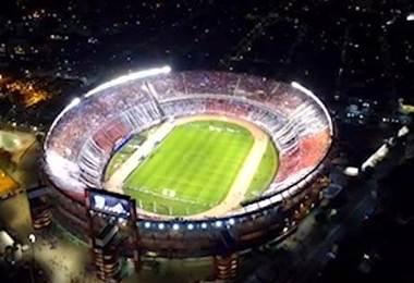 Estadio Monumental de River Plate de Argentina.