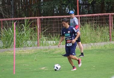 Christian Bolaños, jugador de la Selección Nacional. |Fernando Araya