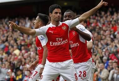 Mikel Arteta, exfutbolista del Arsenal.