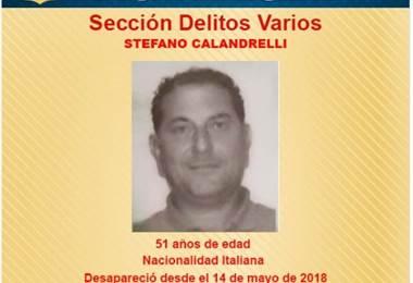Se trata de Stefano Calandrelli de 51 años de edad.