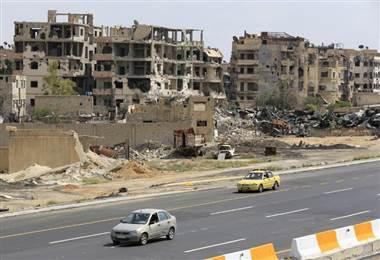 Cercanías de Damasco. AFP