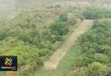 Uso de pistas clandestinas para tráfico de drogas quedó en evidencia luego del decomiso de 150 kilos de cocaína en Cañas