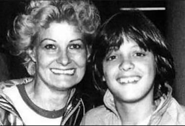 Luis Miguel y su mamá.