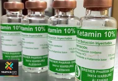 Decomiso de ketamina alerta a las autoridades sobre paso de este fármaco con fines ilícitos