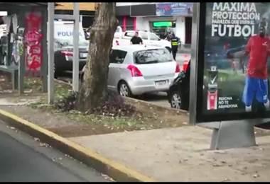 Dos personas resultaron heridas de bala a plena luz del día en transitada calle de Los Yoses