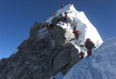 El Escalón de Hillary, última dificultad del Everest, ha desaparecido