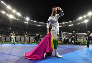 Sergio Ramos, defensa y capitán del Real Madrid. AFP