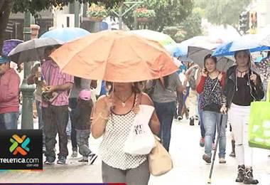 Esta semana continuarán los aguaceros; aunque se pronostica menos lluvia para inicios de junio