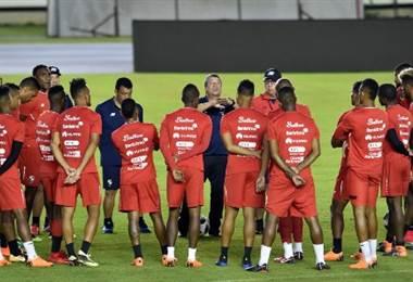 Entrenamiento de selección de Panamá.|AFP