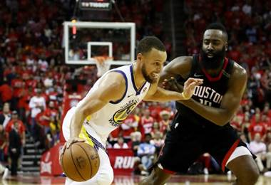 Warriors vencen a Rockets y avanzan a la final de la NBA contra los Cavaliers