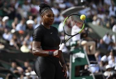 Serena Williams, tenista estadounidense.|AFP