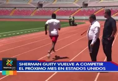 Paratleta costarricense Sherman Guity vuelve a competir el próximo mes en Estados Unidos