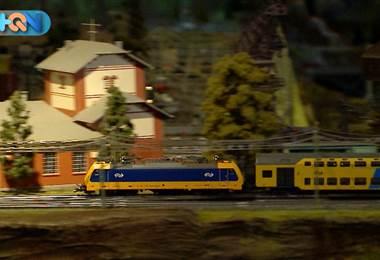 ¿Se imagina dos cuartos de su casa dedicados completamente a trenes, vagones y rieles?  Aún mejor: 15 años de su vida dedicados a construir una maqueta perfectamente detallada, el sueño de cualquier niño.