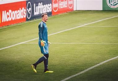Manuel Neuer, portero de la Selección de Alemania.