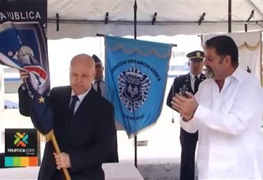 Michael Soto es el primer ministro del nuevo gobierno en asumir su cargo